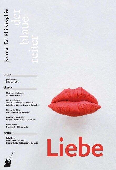 Der Blaue Reiter. Journal für Philosophie / Liebe