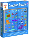 Creative Puzzle In Space -