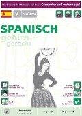 Spanisch lernen 2. Aufbau. CD-ROM -