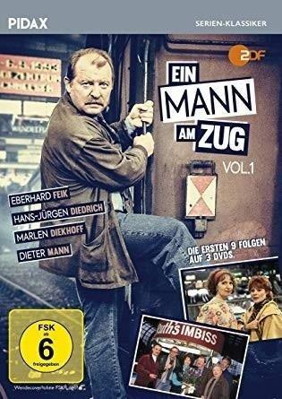 Ein Mann am Zug, Vol. 1. 3 DVDs -