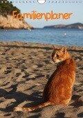 Familienplaner Katzen (Wandkalender 2018 DIN A4 hoch) - Antje Lindert-Rottke