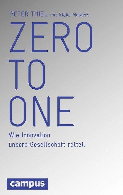 Zero to One - Peter Thiel, Blake Masters