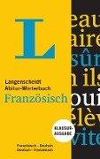 Langenscheidt Abitur-Wörterbuch Französisch - Buch und App -