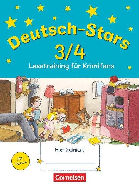 Deutsch-Stars 3/4. Lesetraining für Krimifans - Ursula Kuester, Cornelia Scholtes, Annette Webersberger