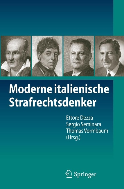 Moderne italienische Strafrechtsdenker -