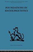 Foundations in Sociolinguistics -