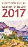 Insel-Kalender für das Jahr 2017 - Hermann Hesse