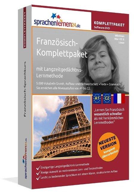 Sprachenlernen24.de Französisch-Komplettpaket (Sprachkurs) -