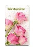 Taschen-Geburtstagskalender Blumen -