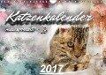 Katzenkalender mausgemalt (Wandkalender 2017 DIN A4 quer) - SYLVIO BANKER