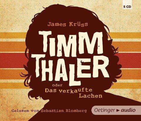 Timm Thaler oder Das verkaufte Lachen (5 CD) - James Krüss