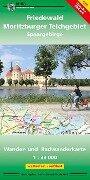 Friedewald - Moritzburger Teichgebiet - Spaargebirge 1 : 33 000 -