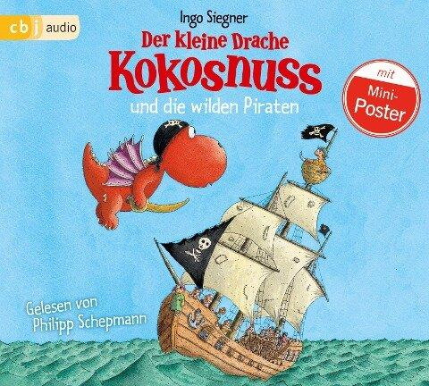 Der kleine Drache Kokosnuss 09 und die wilden Piraten - Ingo Siegner
