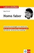 """Lektürehilfen Max Frisch """"Homo faber"""" - Manfred Eisenbeis"""