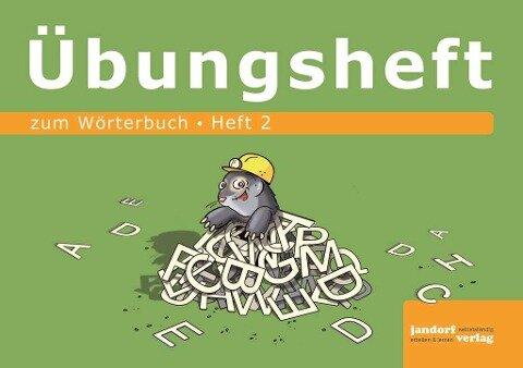 Wörterbuchübungsheft 2 (Übungsheft zum Wörterbuch 19x16cm) - Peter Wachendorf