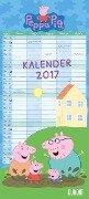 Peppa Pig Familienkalender 2017 -