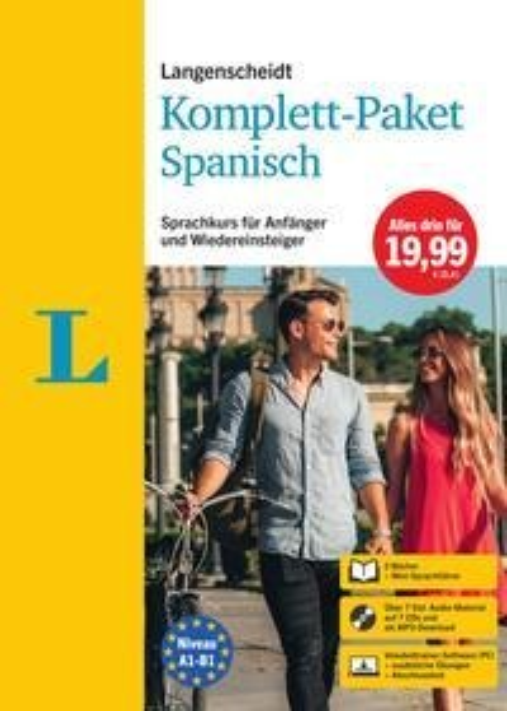 Langenscheidt Komplett-Paket Spanisch -