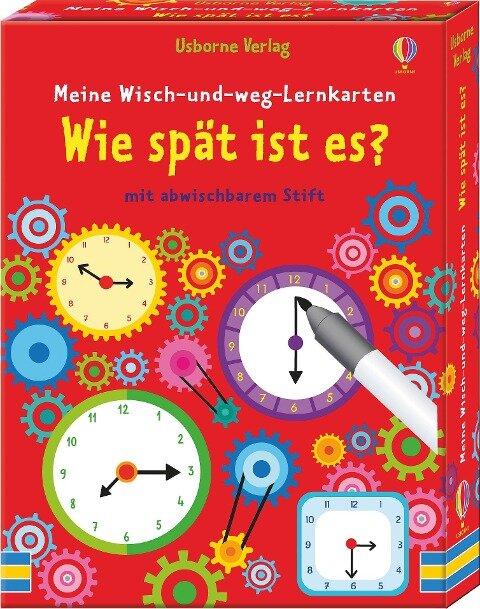 Meine Wisch-und-weg-Lernkarten: Wie spät ist es? - Kirsteen Robson