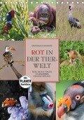 Emotionale Momente: Rot in der Tierwelt (Tischkalender 2017 DIN A5 hoch) - Ingo Gerlach GDT