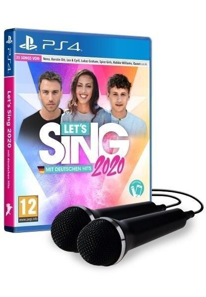 Let's Sing 2020 mit deutschen Hits [+ 2 Mikrofone] (PlayStation PS4) -