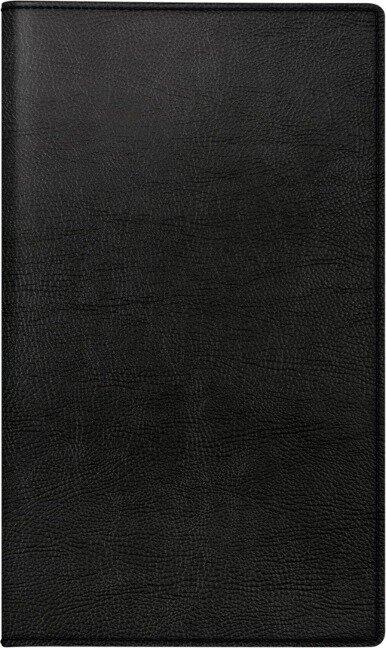 rido/idé 7046884901 Monatskalender/Taschenkalender 2021 Modell M-Planer, Kunstleder-Einband Prestige, schwarz -