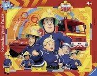 Feuerwehrmann Sam: Sam, der Feuerwehrmann. Rahmenpuzzle 33 Teile -