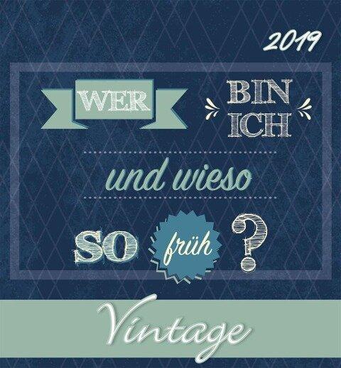 Gute Wünsche 2019 Postkartenkalender -