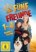 Fünf Freunde 1-4 - Enid Blyton