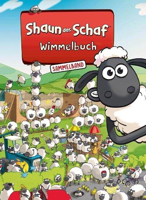 Shaun das Schaf Wimmelbuch - Der große Sammelband - Bilderbuch ab 3 Jahre -