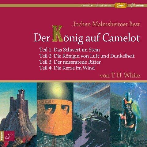 Der König auf Camelot Teil 1-4 - Terence Hanbury White