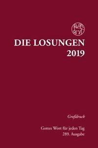 Die Losungen 2019 für Deutschland - Grossdruck, gebunden -