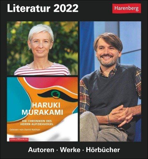 Literatur - Kalender 2022 - Dirk Michel, Brigitte Lotz, Magnus Enxing