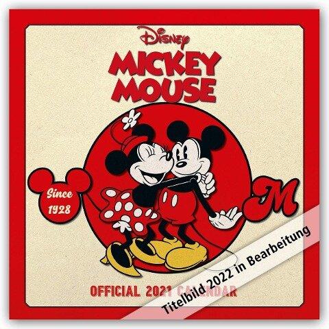 Disney Mickey Mouse 2022 - Wandkalender -