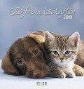 Tierfreundschaften 2019. Postkartenkalender -