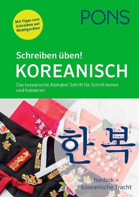 PONS Schreiben üben! Koreanisch -