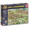 Jan van Haasteren - Rasenmäherrennen - Puzzle 1000 Teile -