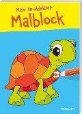 Mein Knuddeltier-Malblock gelb. Ab 4 Jahren -