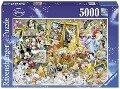 Disney: Mickey als Künstler. Puzzle 5000 Teile -