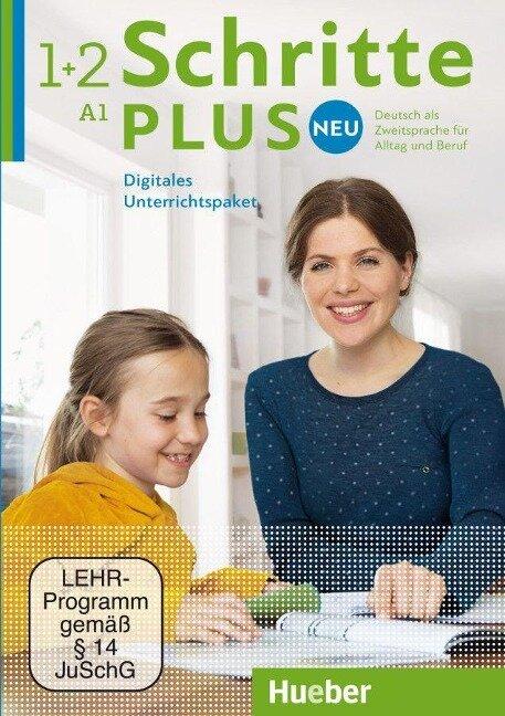 Schritte plus Neu 1+2. Digitales Unterrichtspaket - Daniela Niebisch, Sylvette Penning-Hiemstra, Franz Specht, Monika Bovermann, Angela Pude