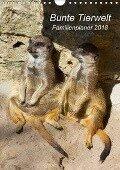 Bunte Tierwelt - Familienplaner 2018 (Wandkalender 2018 DIN A4 hoch) - Ursula Di Chito
