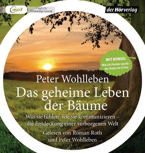 Das geheime Leben der Bäume - Peter Wohlleben