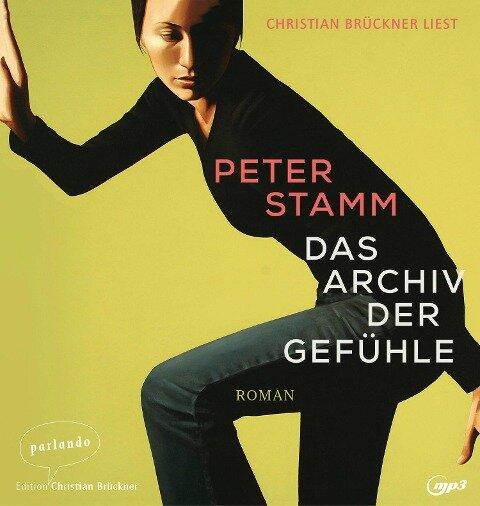 Das Archiv der Gefühle - Peter Stamm