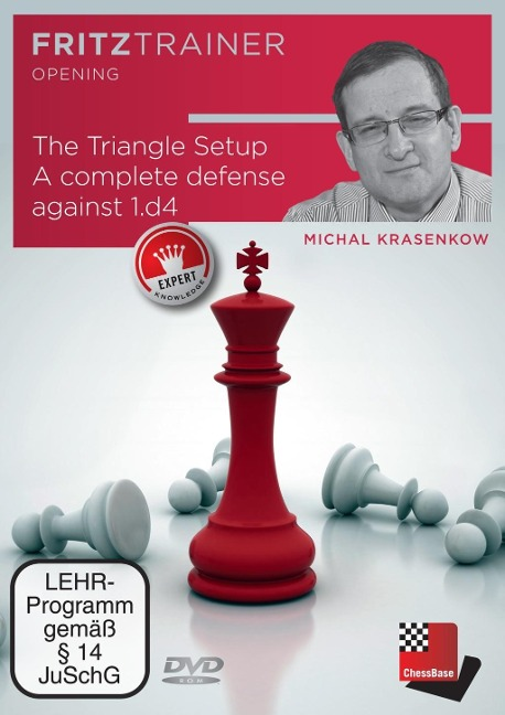 Michal Krasenkov: The Triangle Setup. A complete defense against 1.d4 - Michal Krasenkow