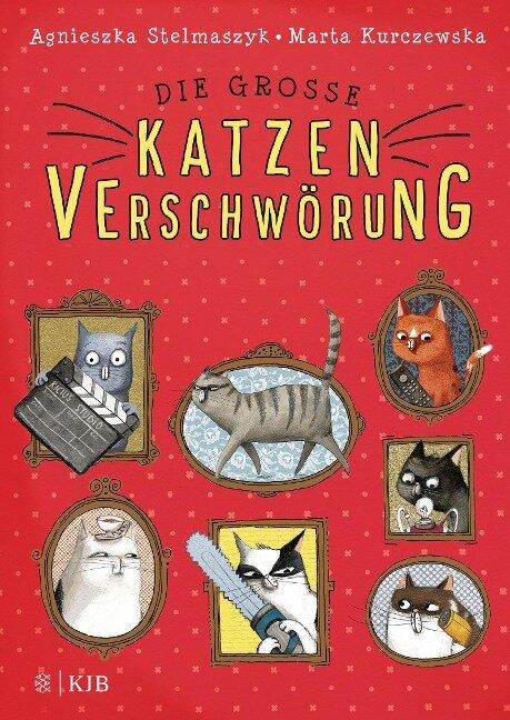 Die große Katzenverschwörung - Agnieszka Stelmaszyk