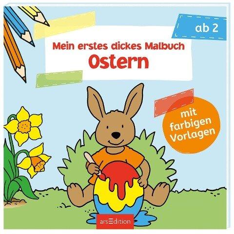 Mein erstes dickes Malbuch Ostern -