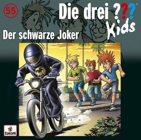 Die drei ??? Kids 55: Der schwarze Joker - Boris Pfeiffer