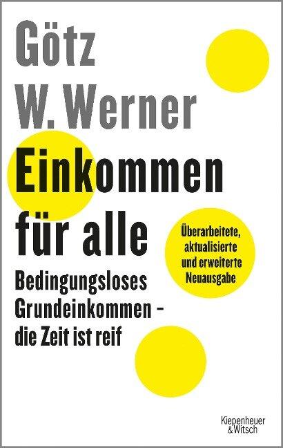 Einkommen für alle - Götz W. Werner, Enrik Lauer