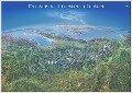 Panoramakarte Alpen -