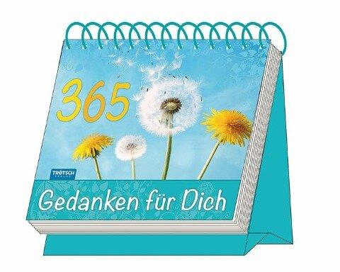 """Aufstellkalender """"365 Gedanken für Dich"""" -"""