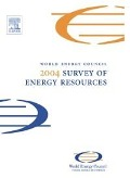 2004 Survey of Energy Resources -